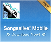 Songsalive! Mobile App