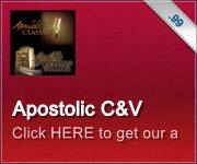 Apostolic C&V